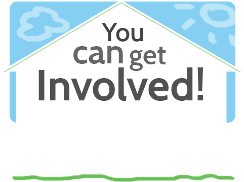 Habitat for Humanity Web banners: Get Involved