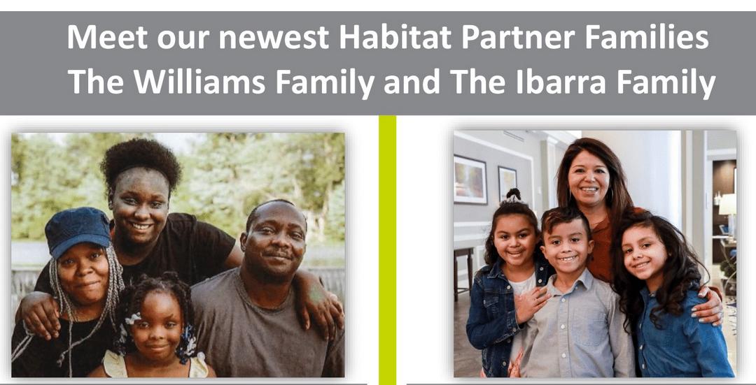 Meet Our Newest Partner Families!